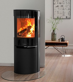 Aduro H3 Lux combined pellet and wood burning stove