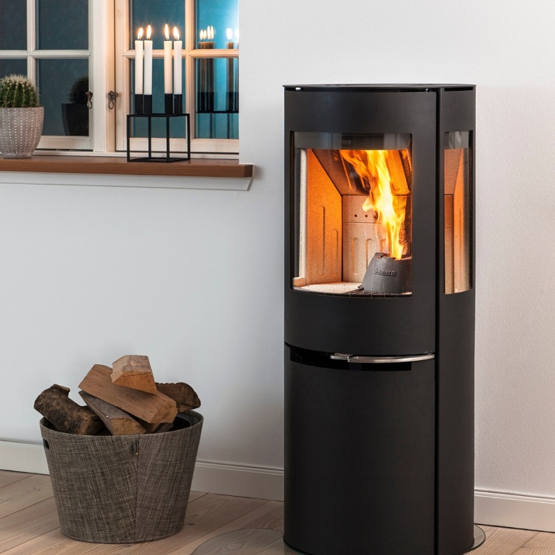 Aduro Hybrid - combined pellet and wood burning stove